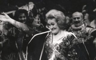 Joan Sutherland took her final bow in 1990. Her extraordinary technique kept her singing professionally into her mid-60s.